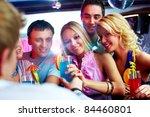 photo of pretty girls looking... | Shutterstock . vector #84460801