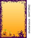 halloween background   Shutterstock .eps vector #84473962