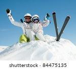 Ski  Snow  Sun And Fun   Skiers ...