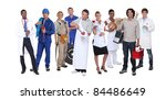 ambitious workers from... | Shutterstock . vector #84486649