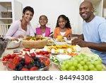 an attractive happy african... | Shutterstock . vector #84494308