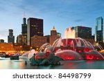 Buckingham Fountain In Grant...