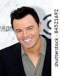 Small photo of CULVER CITY, CA - SEPT. 10: Seth MacFarlane arrives at the Comedy Central Roast of Charlie Sheen at Sony Studios on Sept. 10, 2011 in Culver City, CA.