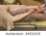 thai style body massage | Shutterstock . vector #84522319