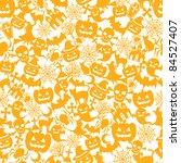 halloween orange background | Shutterstock .eps vector #84527407