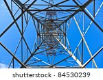 Steel Electricity Pylon On...