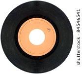 Empty Gramophone Vinyl Record...
