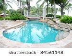 swimming pool   Shutterstock . vector #84561148