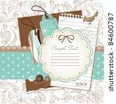scrapbook elements | Shutterstock .eps vector #84600787