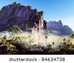 tropical paradise   Shutterstock . vector #84634738