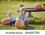 Cute Kids Having Fun At...