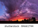 A Spectacular  Vivid Stormy Sk...