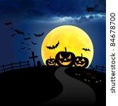 halloween | Shutterstock . vector #84678700