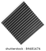 acoustic foam isolated on a... | Shutterstock . vector #84681676