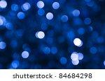 Defocused Abstract Blue...