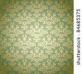 Damask Seamless Pattern On...