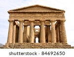 Agrigento  Sicily Island In...