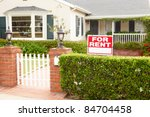 house for rent | Shutterstock . vector #84704458