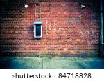 Grungy Urban Background Of A...