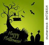 halloween background | Shutterstock .eps vector #84728314