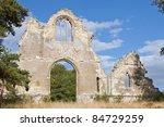 Ruins Of An Ancient Church Nea...