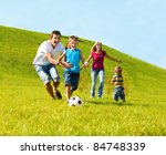 happy family lifestyle | Shutterstock . vector #84748339