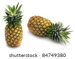 Two Whole Pineapple