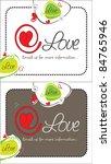 at love  | Shutterstock .eps vector #84765946