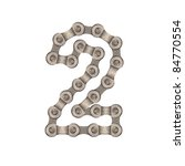 numbers of chain | Shutterstock . vector #84770554