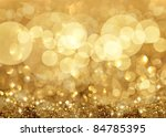 twinkly lights and stars... | Shutterstock . vector #84785395