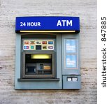 a photo of an atm machine | Shutterstock . vector #847885