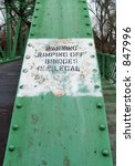 Warning  Jumping Off Bridges Is ...