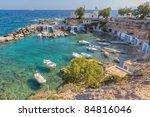 mantrakia  milos island ... | Shutterstock . vector #84816046