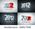 2012 Happy New Year Card Set....