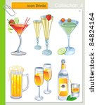 collection_4 vector alcohol... | Shutterstock .eps vector #84824164