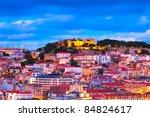 panorama of lisbon  portugal | Shutterstock . vector #84824617