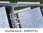 aerial view over industrial... | Shutterstock . vector #84845731