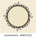 decorative vintage frame  eps    Shutterstock .eps vector #84851122