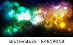 fantasy universe | Shutterstock . vector #84859018