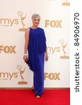 Small photo of LOS ANGELES - SEP 18: Randee Heller arriving at the 63rd Primetime Emmy Awards at Nokia Theater on September 18, 2011 in Los Angeles, CA