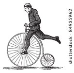 Penny Farthing Or High Wheel...