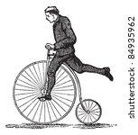 Penny Farthing Or High Wheel...
