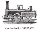 English Steam Locomotive ...