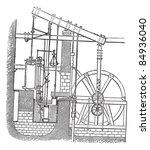 Watt Steam Engine  Vintage...