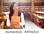 a portrait of an asian college... | Shutterstock . vector #84936313