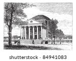 america,american,ancient,antique,art,artwork,black,building,charlottesville,college,cultural,culture,destination,drawing,engraved