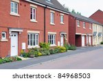 Terraced Houses On A Typical...