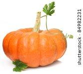 Pumpkin Vegetable Isolated On...