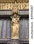 Detail Of Westminster Abbey In...
