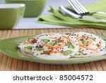 vegetable idali - stock photo